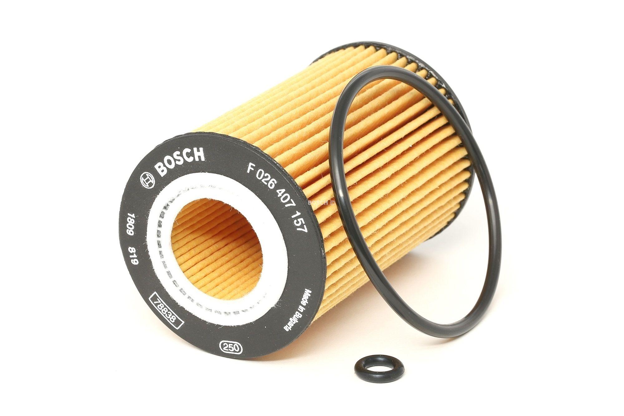 Achetez Filtre à huile BOSCH F 026 407 157 (Ø: 65mm, Hauteur: 102mm, Hauteur 1: 96mm) à un rapport qualité-prix exceptionnel
