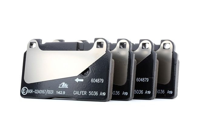 ATE: Original Bremsklötze 13.0460-4879.2 (Höhe: 77,2mm, Breite: 131,8mm, Dicke/Stärke: 16,8mm)