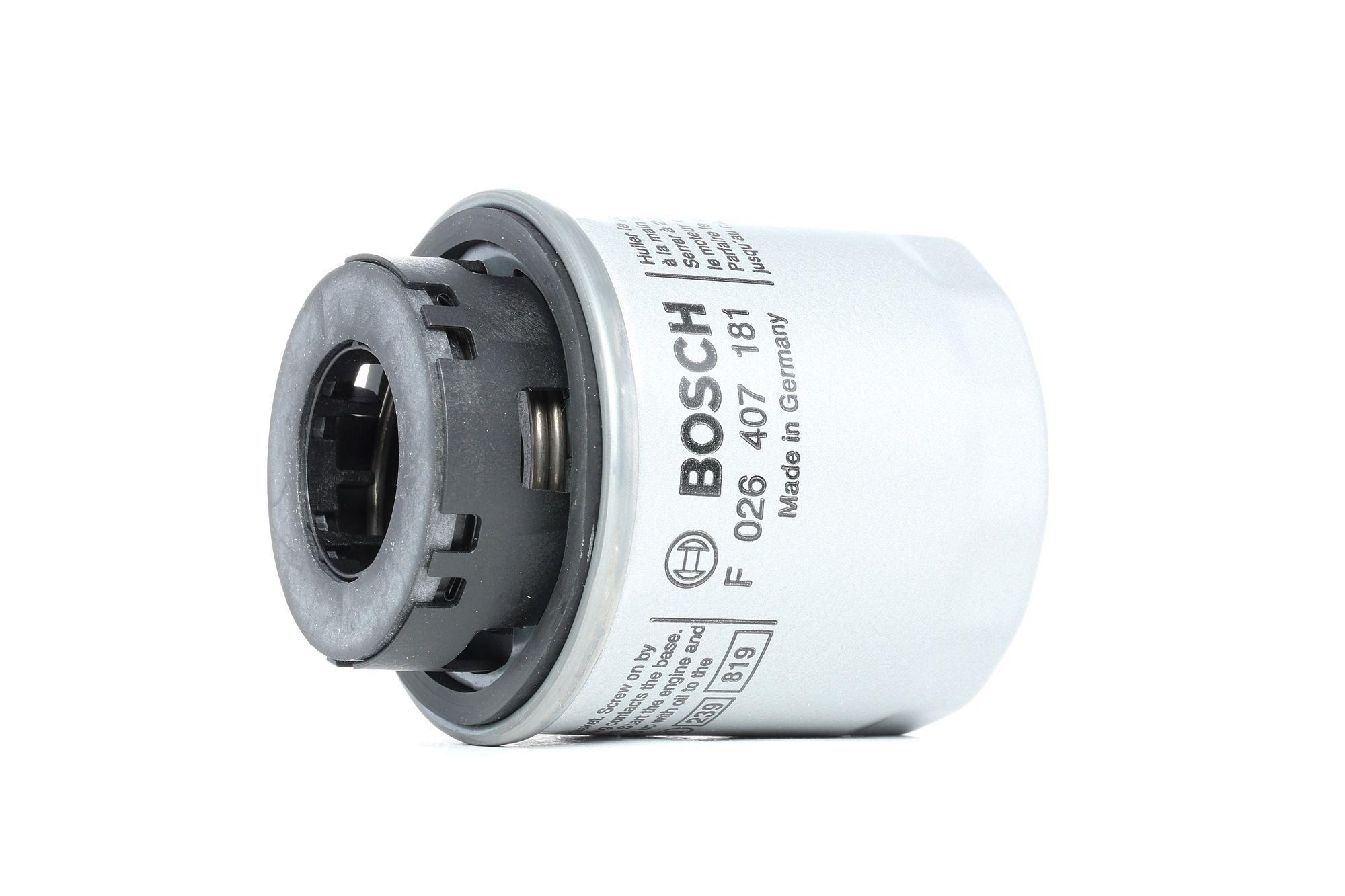 Alyvos filtras F 026 407 181 su puikiu BOSCH kainos/kokybės santykiu