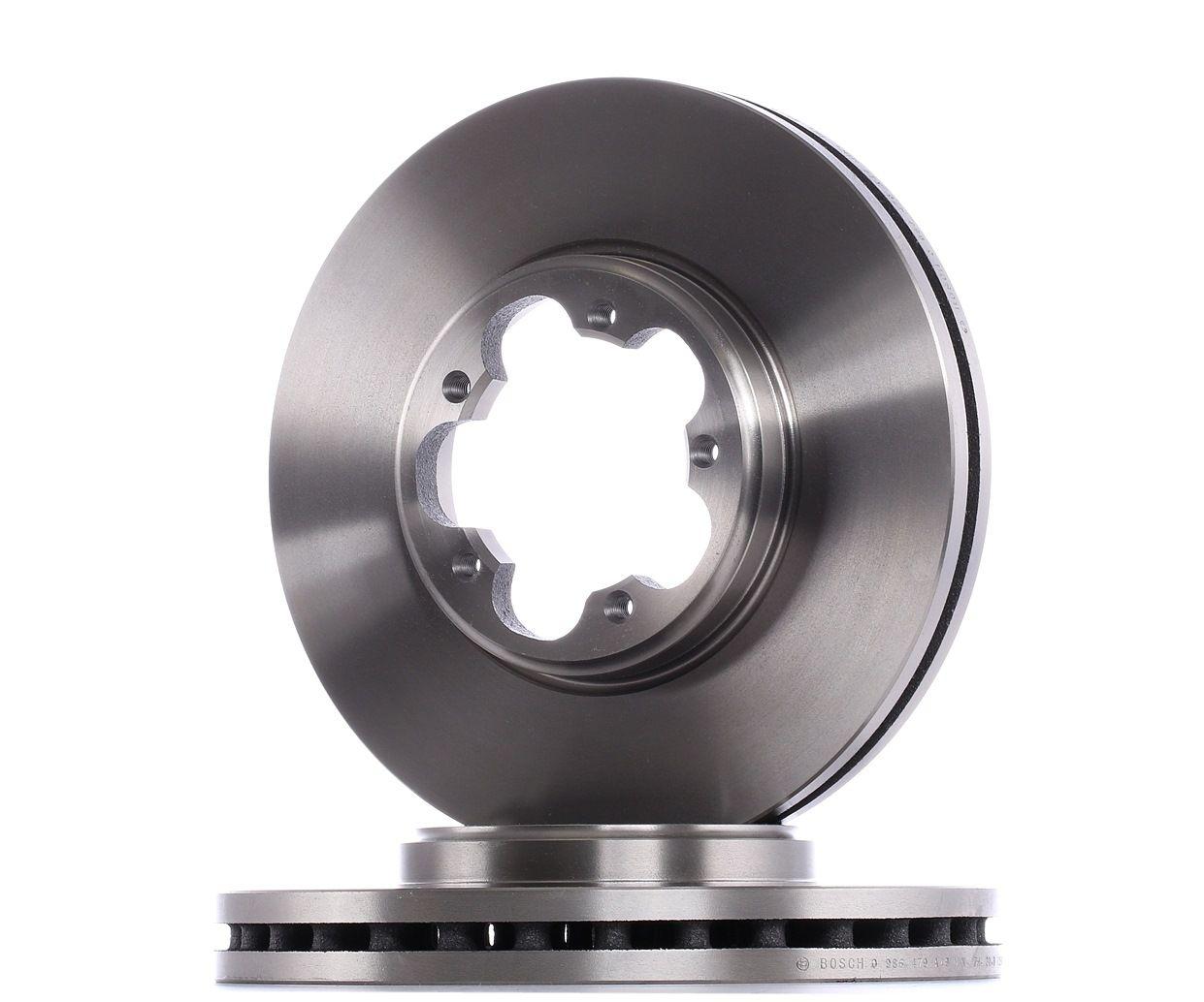 Спирачен диск 0 986 479 A49 с добро BOSCH съотношение цена-качество