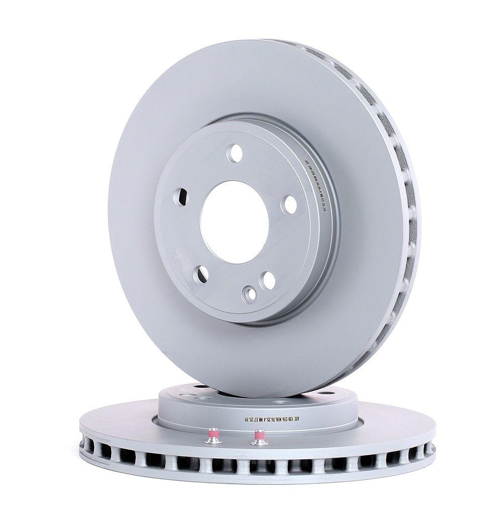 MERCEDES-BENZ A-Klasse 2020 Tuning - Original ATE 24.0128-0276.1 Ø: 295,0mm, Lochanzahl: 5, Bremsscheibendicke: 28,0mm