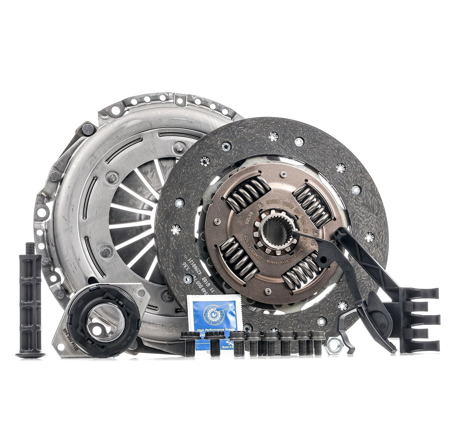 Audi A6 2012 Clutch set SACHS 3000 970 072: with mounting tools