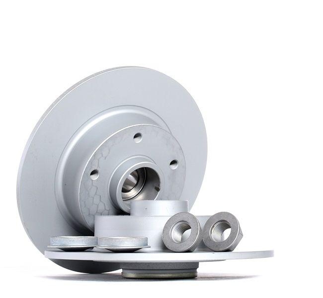 ATE: Original Bremsscheibe 24.0108-0118.2 (Ø: 260,0mm, Lochanzahl: 5, Bremsscheibendicke: 8,0mm) mit vorteilhaften Preis-Leistungs-Verhältnis