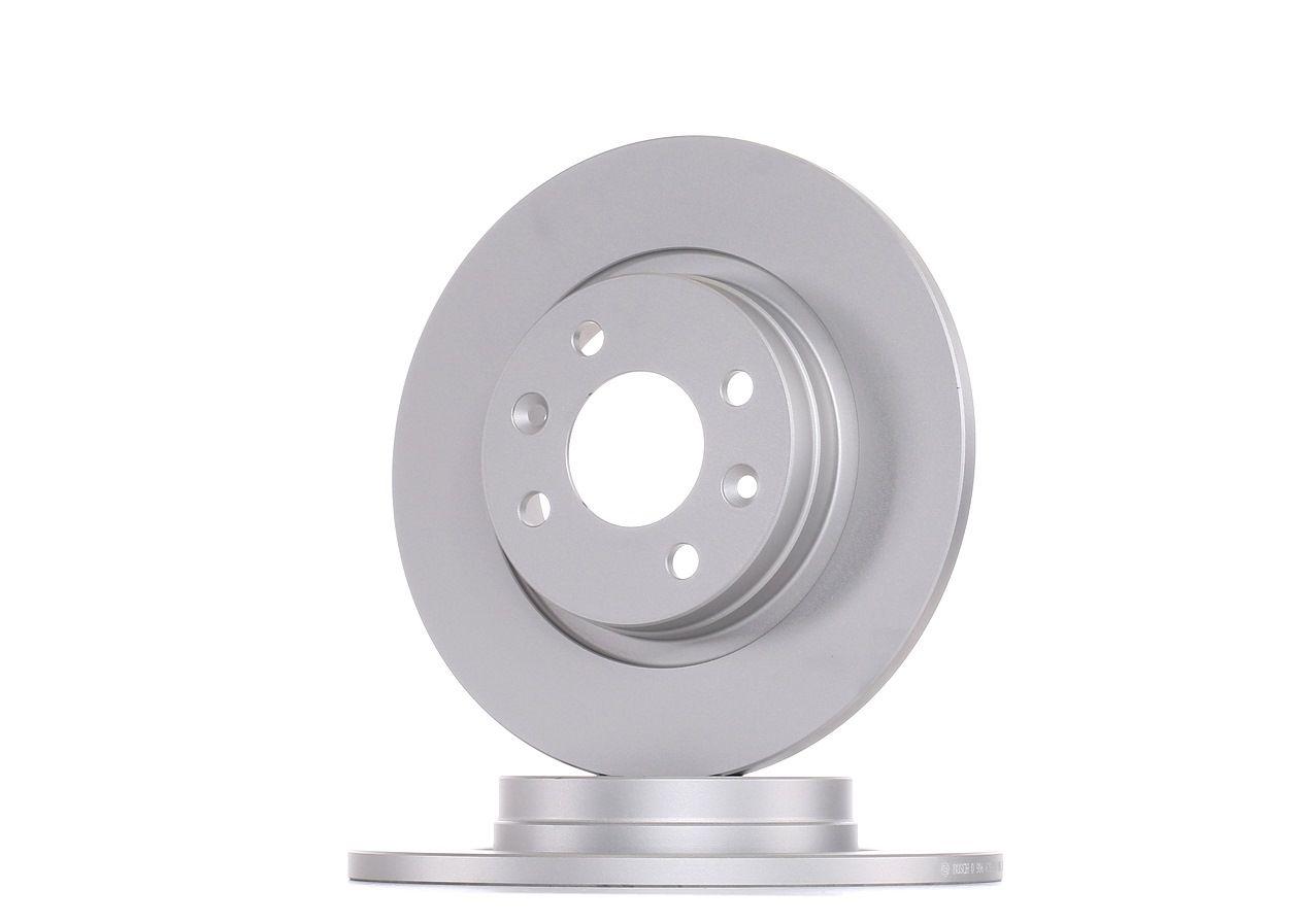 E190R02C01000084 BOSCH Voll, beschichtet Ø: 259mm, Lochanzahl: 4, Bremsscheibendicke: 12mm Bremsscheibe 0 986 479 B79 günstig kaufen
