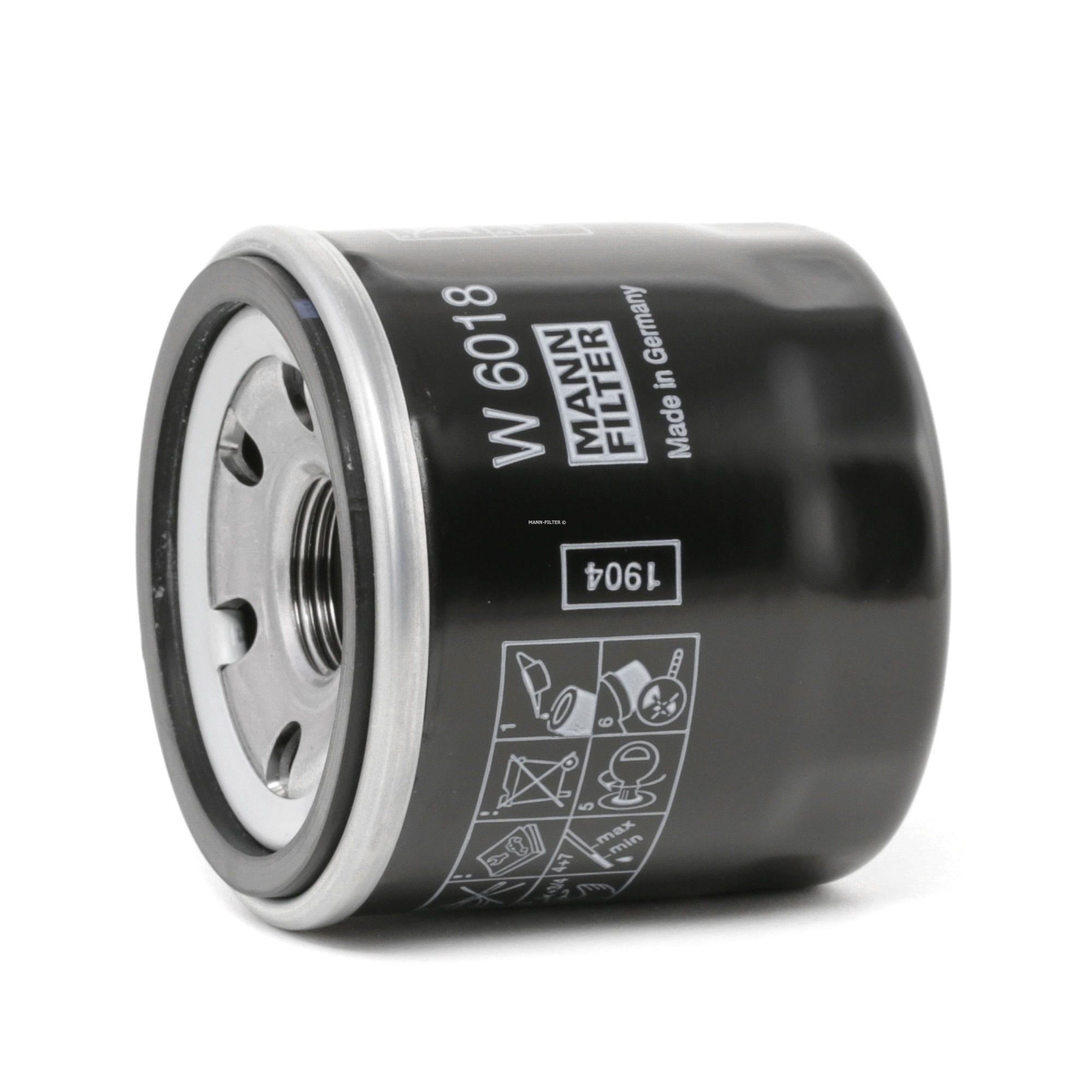 MAZDA MX 2021 Motorölfilter - Original MANN-FILTER W 6018 Innendurchmesser 2: 54mm, Innendurchmesser 2: 54mm, Ø: 66mm, Außendurchmesser 2: 62mm, Höhe: 65mm