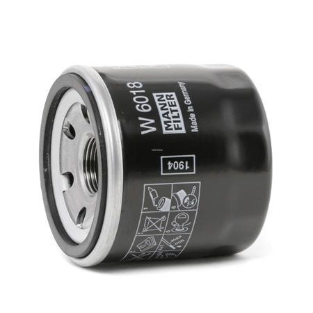W 6018 MANN-FILTER Innendurchmesser 2: 54mm, Ø: 66mm, Außendurchmesser 2: 62mm, Höhe: 65mm Ölfilter W 6018 günstig kaufen