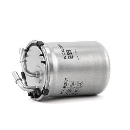 Pieces detachees VOLKSWAGEN XL1 2016 : Filtre à carburant MANN-FILTER WK 8029/1 Hauteur: 109mm - Achetez tout de suite!