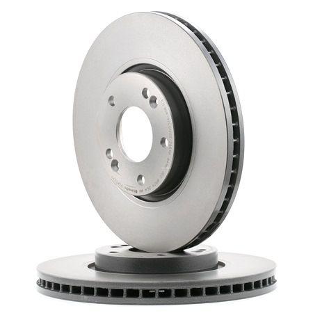 BREMBO 09.A532.11 Brake Disc Rotors Set of 2