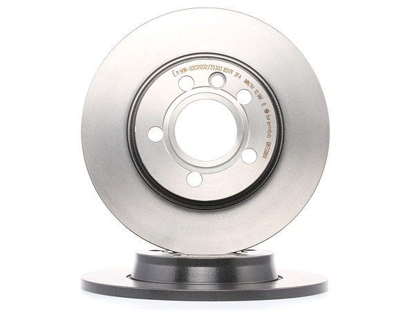 Disco de travão 08.7288.11 com uma excecional BREMBO relação preço-desempenho