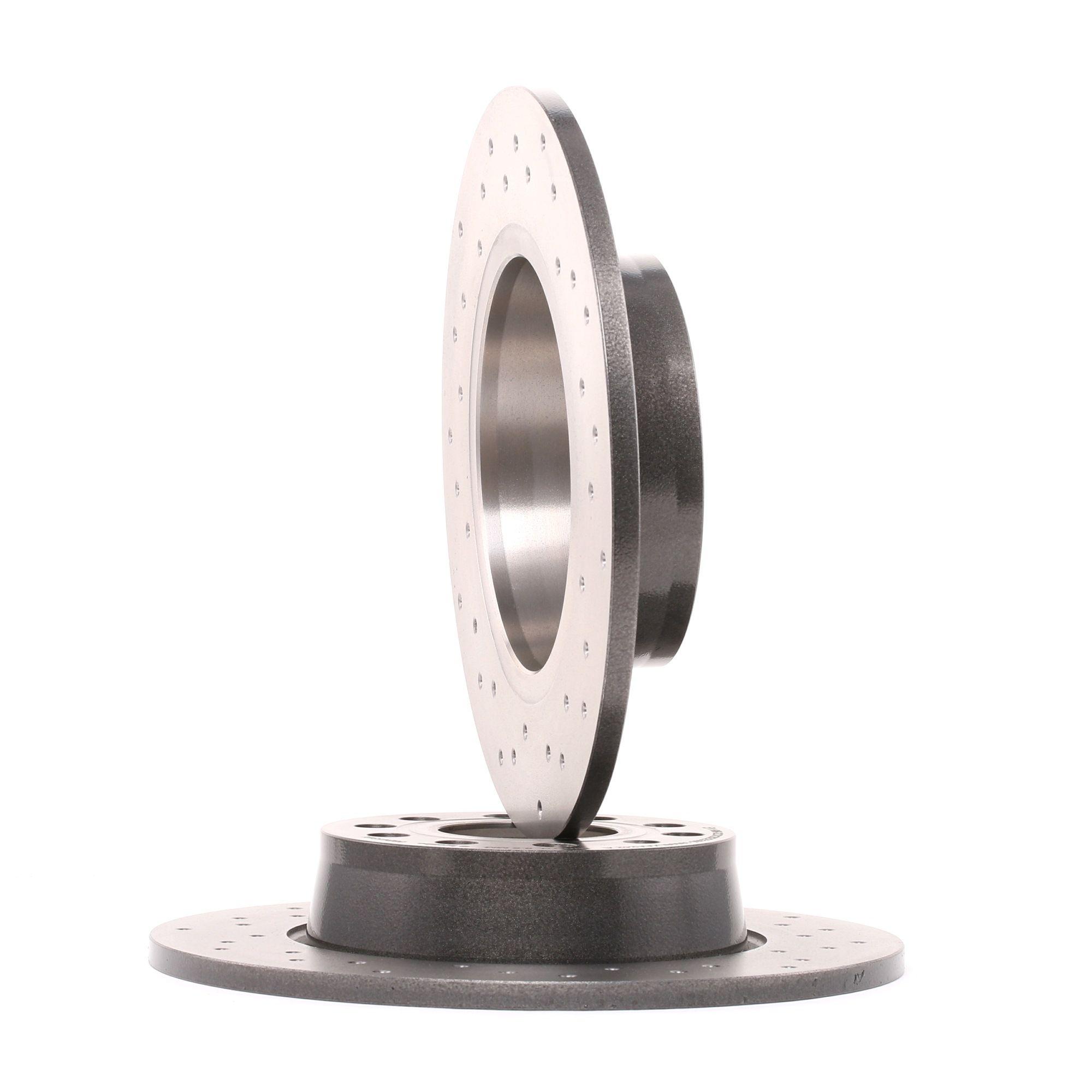 Achetez Disque de frein BREMBO 08.B413.1X (Ø: 272mm, Nbre de trous: 5, Épaisseur du disque de frein: 10mm) à un rapport qualité-prix exceptionnel