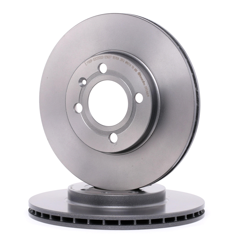 Achetez Système de freinage BREMBO 09.5166.11 (Ø: 256mm, Nbre de trous: 4, Épaisseur du disque de frein: 20mm) à un rapport qualité-prix exceptionnel