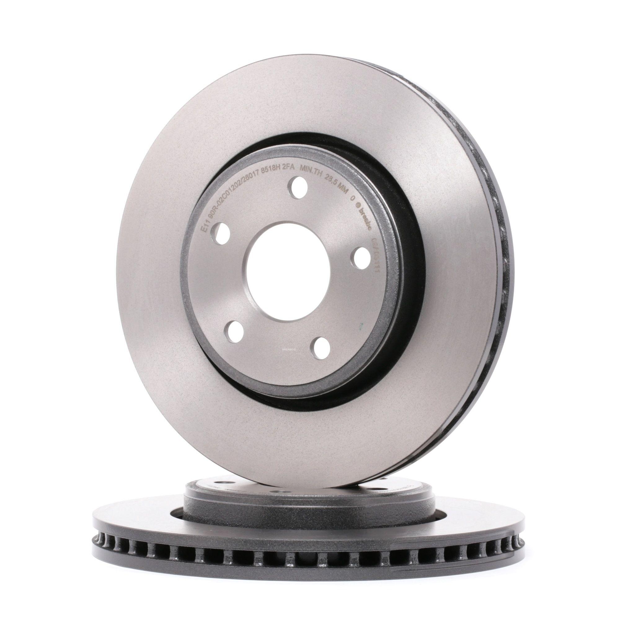 BREMBO 09.5802.21 (Ø: 259mm, Nbre de trous: 4, Épaisseur du disque de frein: 20,6mm) : Disque de frein sport Renault Kangoo kc01 2014