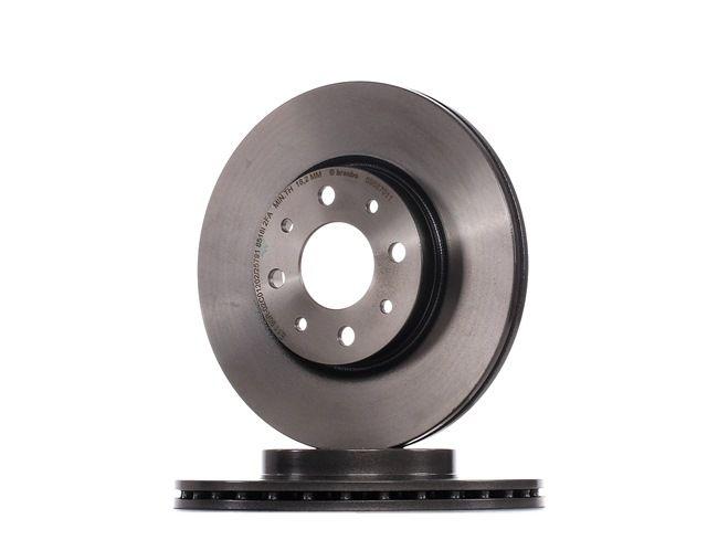 09.5870.11 BREMBO COATED DISC LINE Innenbelüftet, beschichtet, mit Schrauben Ø: 257mm, Lochanzahl: 4, Bremsscheibendicke: 20mm Bremsscheibe 09.5870.11 günstig kaufen