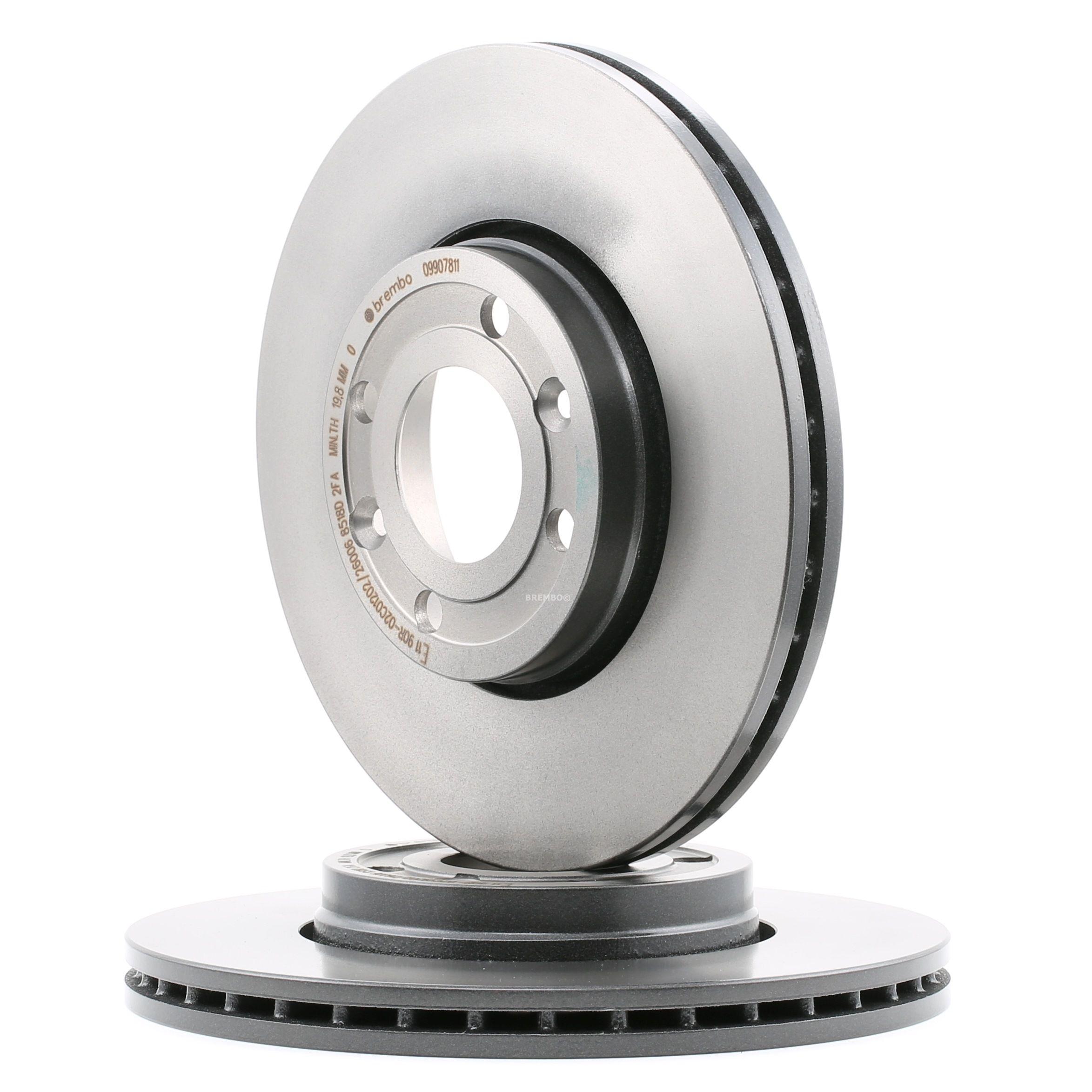 Stabdžių diskas Renault Megane 2 m. 2006 09.9078.11