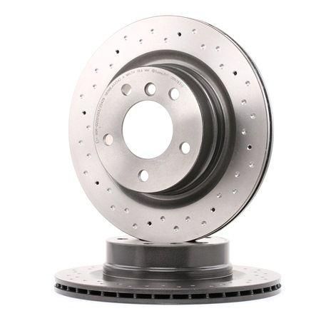 09.9793.1X BREMBO XTRA LINE Perforado/ventil. int., revestido, altamente carbonizado, con tornillos Ø: 300mm, Núm. orificios: 5, Espesor disco freno: 20mm Disco de freno 09.9793.1X a buen precio