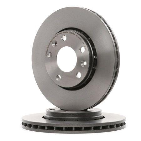 BREMBO: Original Bremsscheibe 09.A727.11 (Ø: 280mm, Lochanzahl: 5, Bremsscheibendicke: 24mm) mit vorteilhaften Preis-Leistungs-Verhältnis