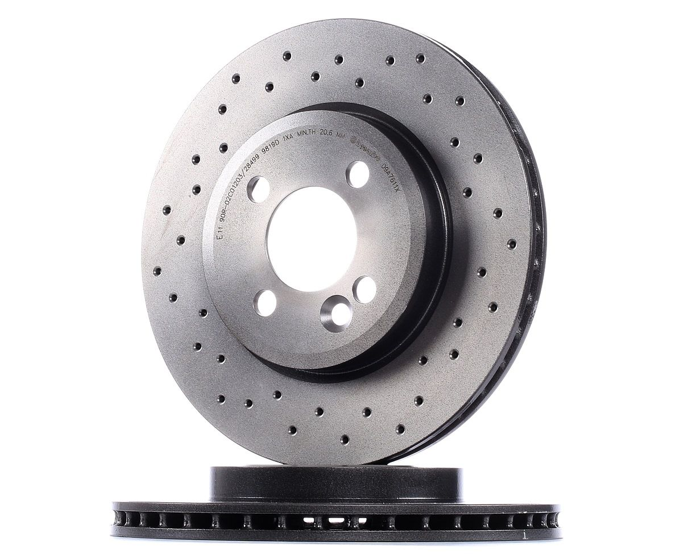Originali Freni a disco 09.A761.1X Mini