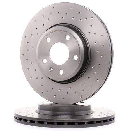 Original Brake discs 09.A820.1X Audi