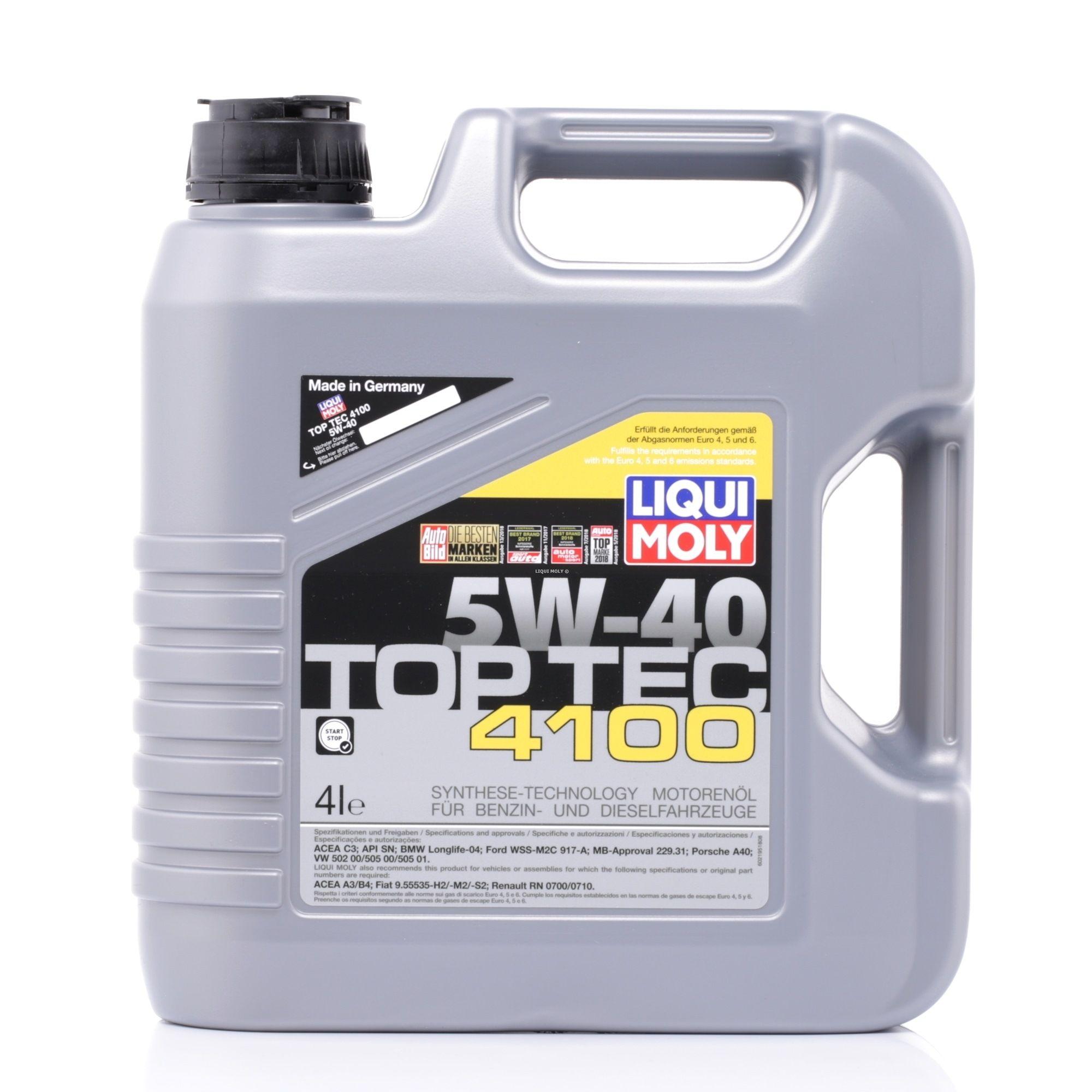 Motorenöl LIQUI MOLY 2195