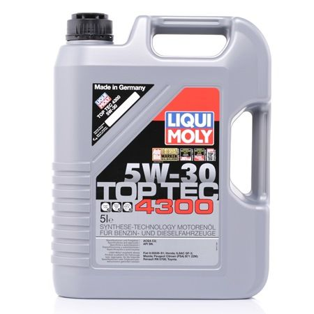 motor l liqui moly top tec 4300 5w 30 5l art nr. Black Bedroom Furniture Sets. Home Design Ideas
