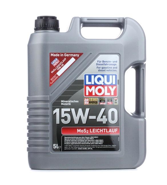 15W 40 Auto Öl - 4100420025716 von LIQUI MOLY im Online-Shop billig bestellen