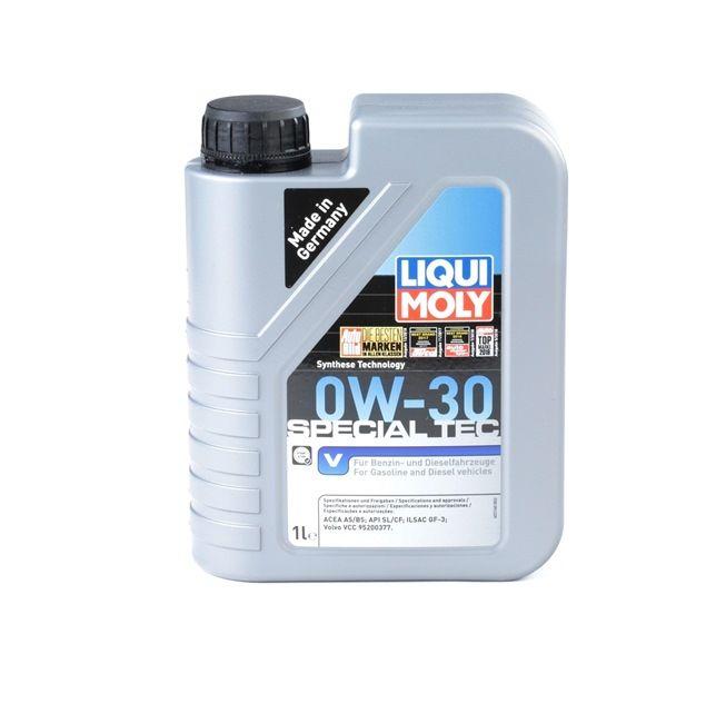 APICF LIQUI MOLY Special Tec, V 0W-30, 1l, Óleo sintético Óleo do motor 2852 comprar económica