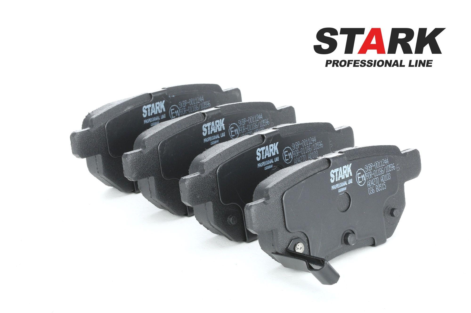 SUBARU TREZIA 2015 Bremsklötze - Original STARK SKBP-0011244 Höhe: 42,6mm, Breite: 98,7mm, Dicke/Stärke: 14,3mm
