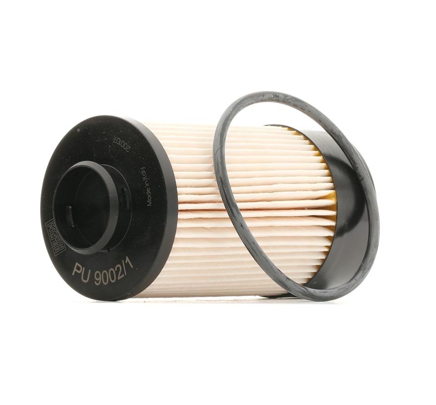 Pirkti PU 9002/1 z MANN-FILTER su tarpikliais / sandarikliais aukštis: 151mm Kuro filtras PU 9002/1 z nebrangu