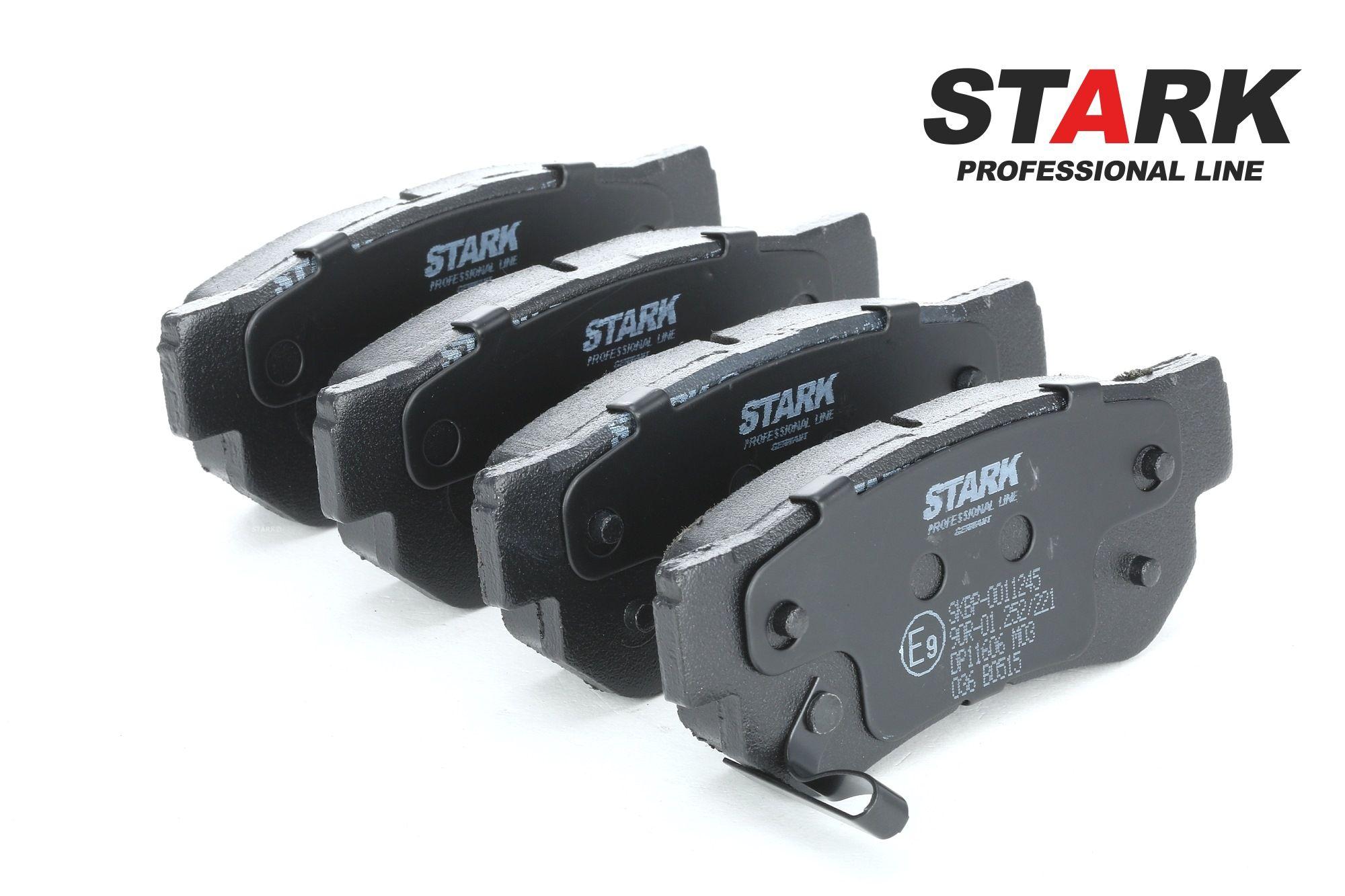 SSANGYONG RODIUS 2020 Bremsbelagsatz - Original STARK SKBP-0011245 Höhe: 41mm, Breite: 98,8mm, Dicke/Stärke: 15mm
