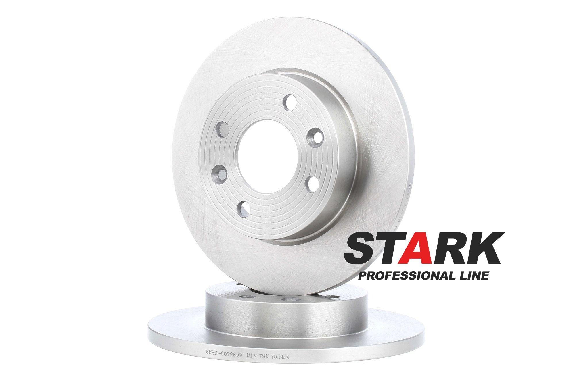 SKBD-0022809 STARK Vorderachse, Voll, ohne Radbefestigungsbolzen, ohne Radnabe Ø: 238,0mm, Bremsscheibendicke: 12mm Bremsscheibe SKBD-0022809 günstig kaufen