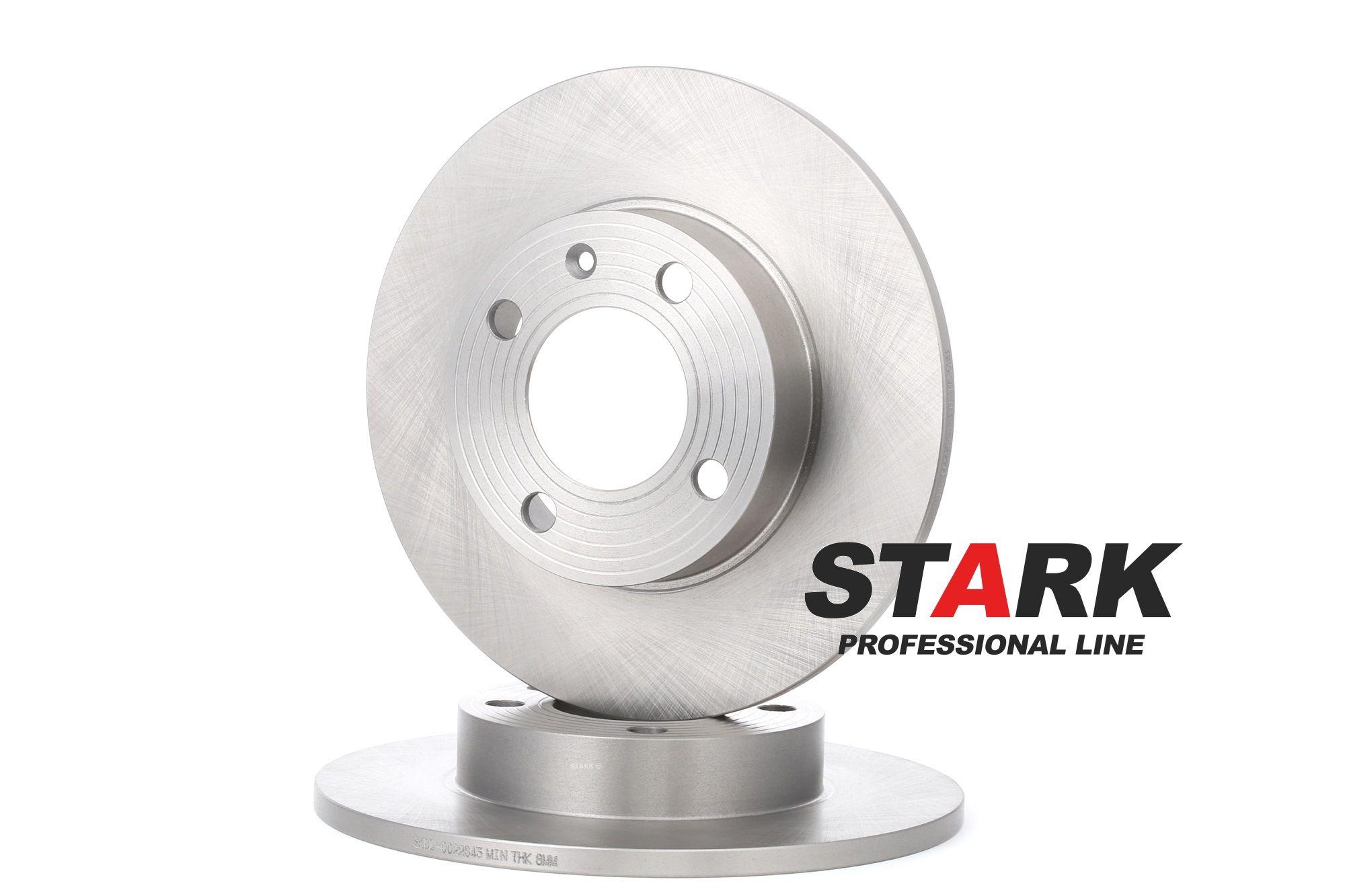 STARK SKBD-0022843 (Ø: 239,0mm, Épaisseur du disque de frein: 10mm) : Disque de frein VW Polo 86c 1991