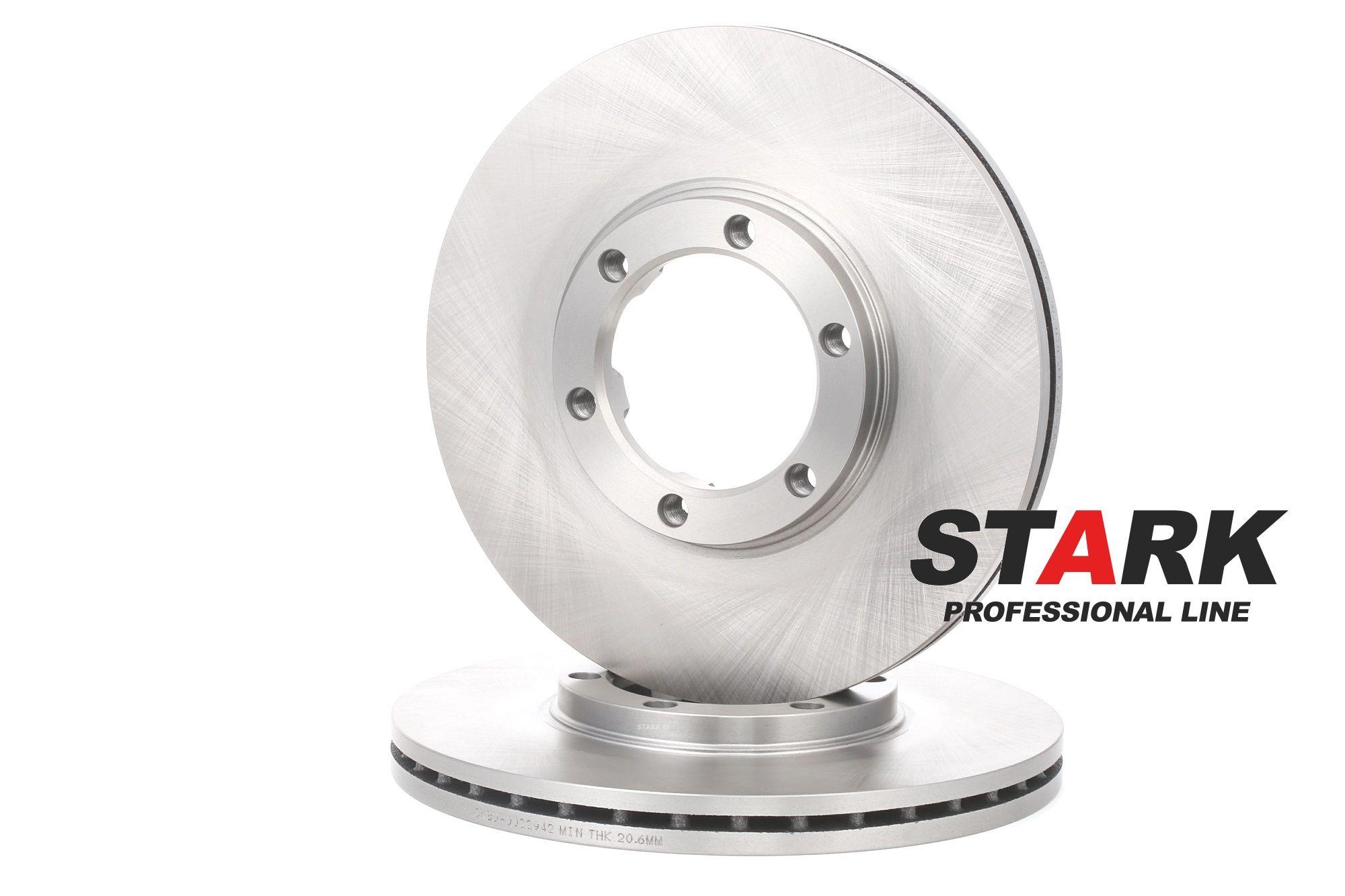STARK: Original Tuning SKBD-0022942 (Ø: 257mm, Bremsscheibendicke: 22mm)