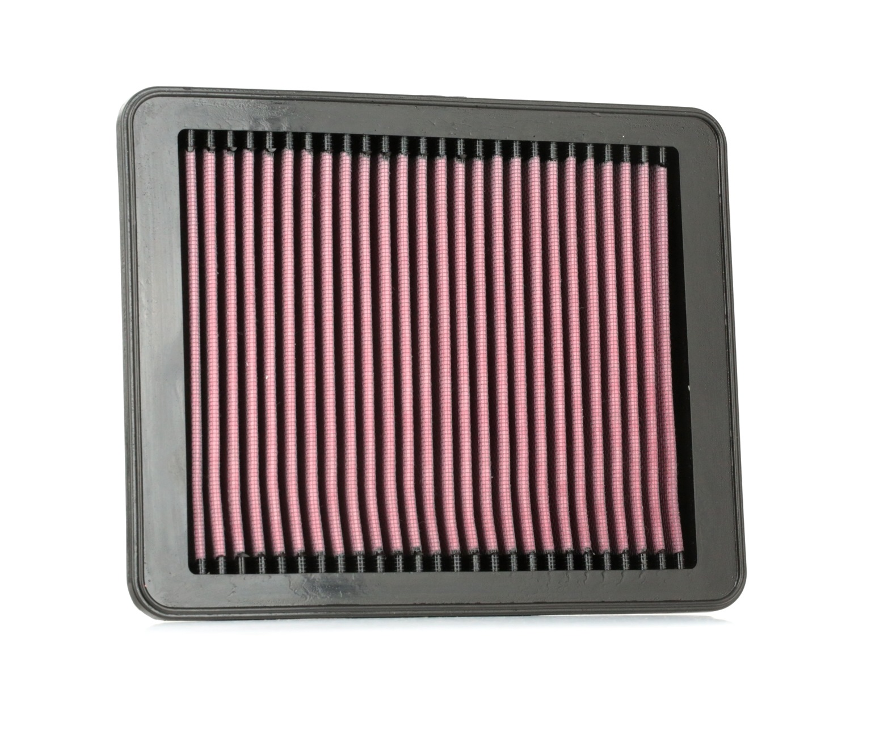 K&N Filters: Original Kfz-Filter 33-3024 (Länge: 251mm, Länge: 251mm, Breite: 202mm, Höhe: 35mm)