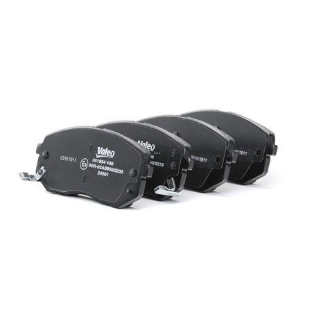 Bremsbelagsatz, Scheibenbremse 301934 — aktuelle Top OE 581012SA51 Ersatzteile-Angebote