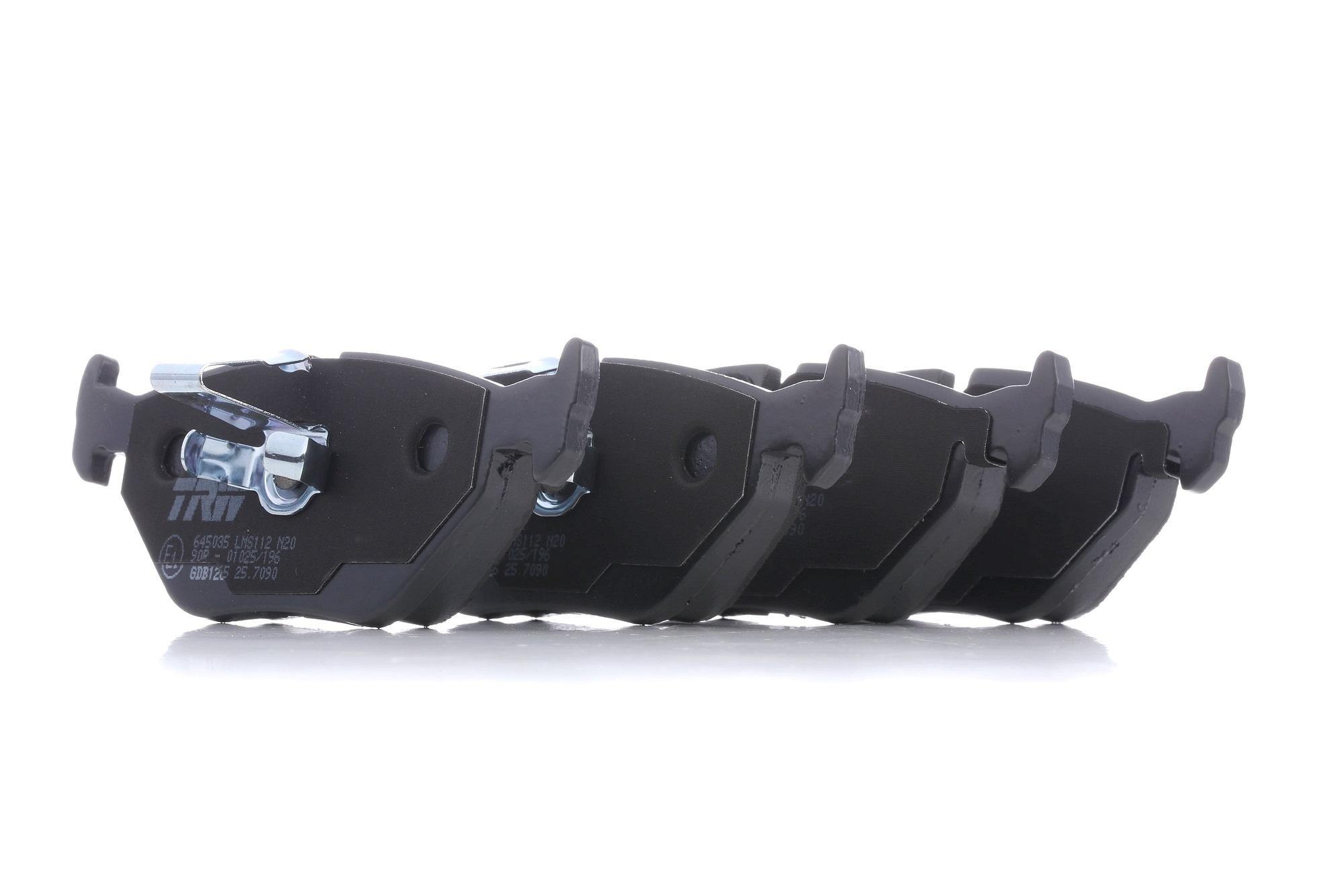 VALEO: Original Bremsbelagsatz 301027 (Höhe: 66,7mm, Breite: 163,4mm, Dicke/Stärke: 21,2mm)