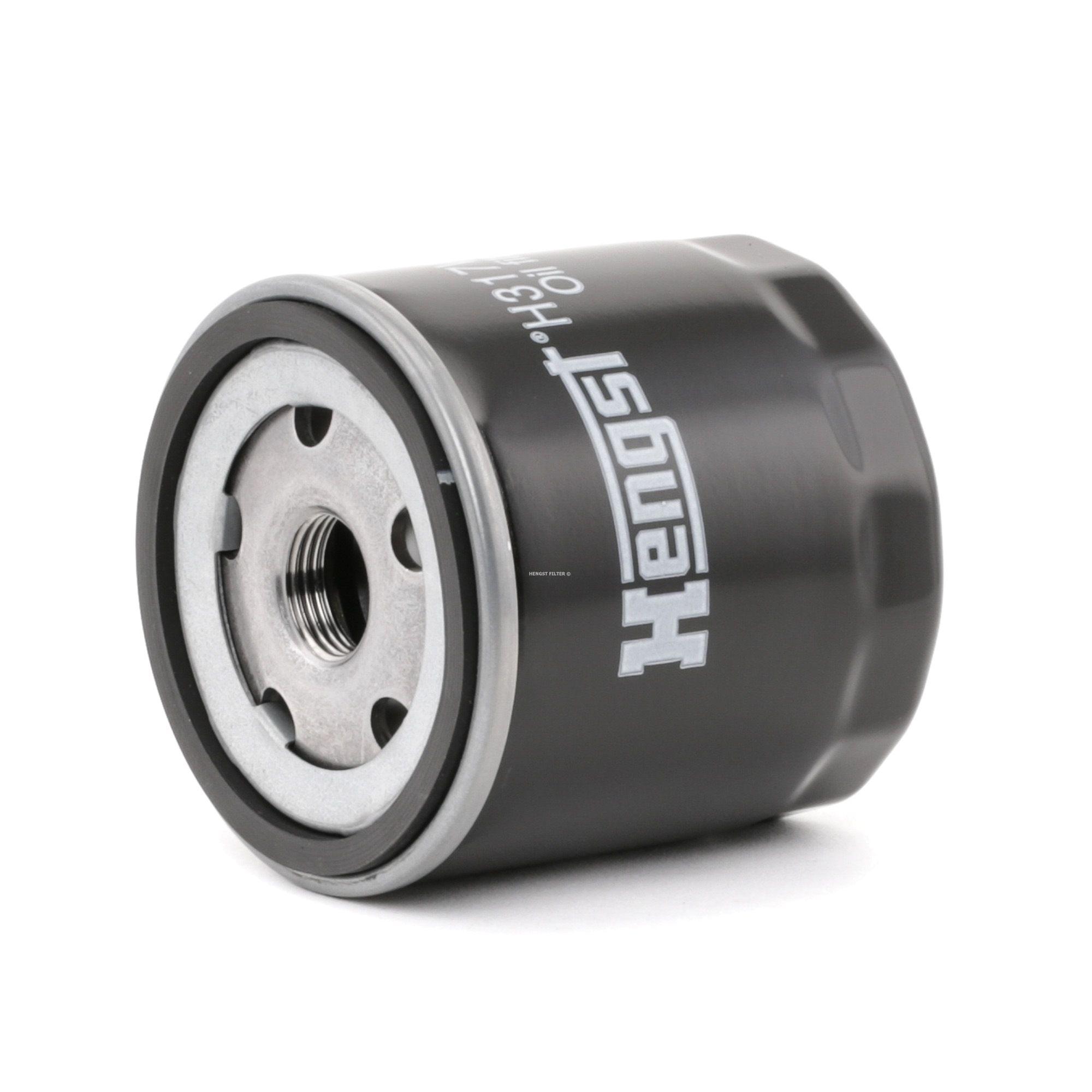 Achetez Filtre à huile HENGST FILTER H317W01 (Ø: 76mm, Hauteur: 80mm) à un rapport qualité-prix exceptionnel