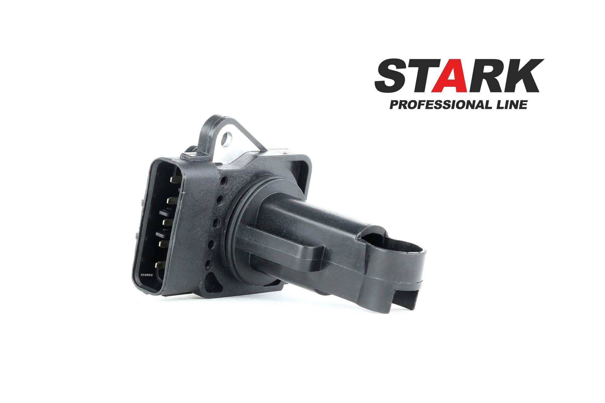 JAGUAR Mk Luftmassensensor - Original STARK SKAS-0150131 Spannung: 12V, Pol-Anzahl: 5-polig