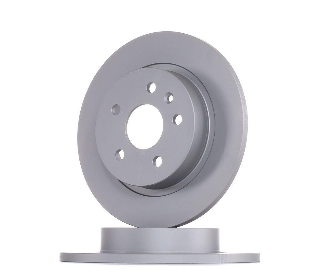 CHEVROLET CRUZE 2015 Bremsscheibe - Original BOSCH 0 986 479 C57 Ø: 268mm, Lochanzahl: 5, Bremsscheibendicke: 12mm