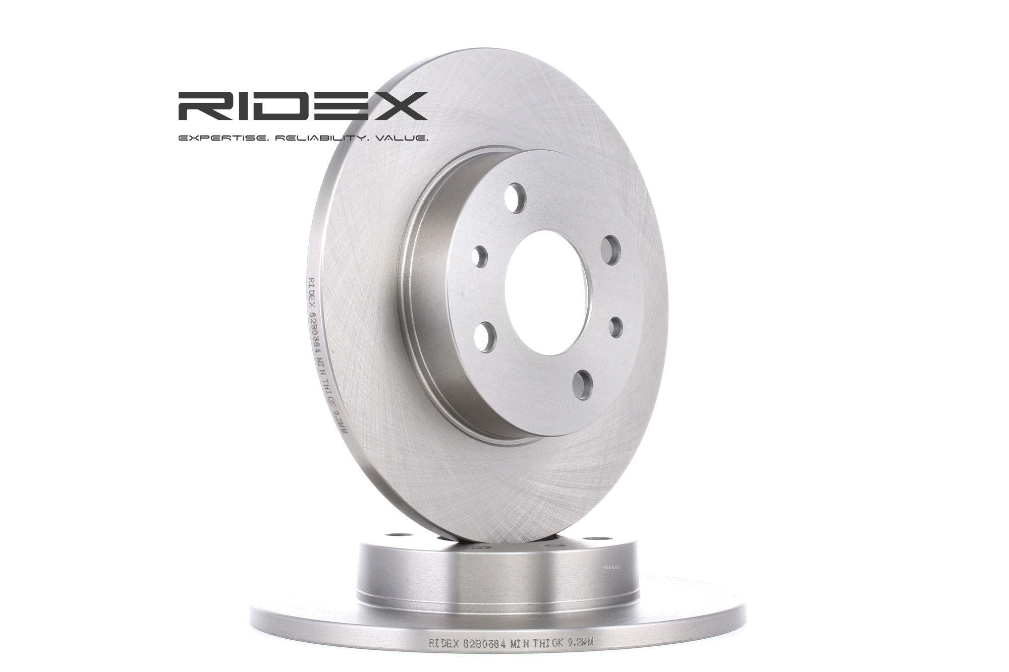 Scheibenbremsen RIDEX 82B0384