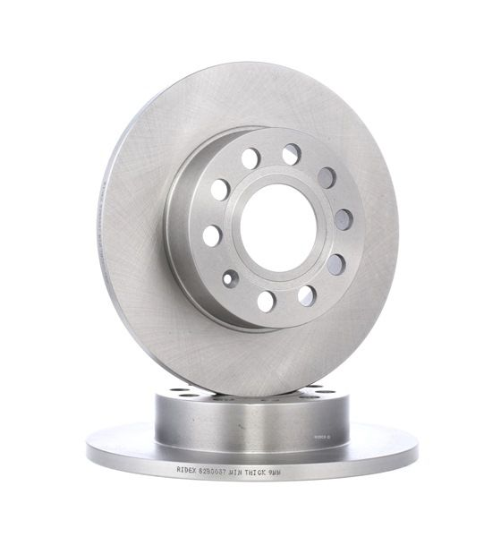 Brake Disc 82B0037 with an exceptional RIDEX price-performance ratio