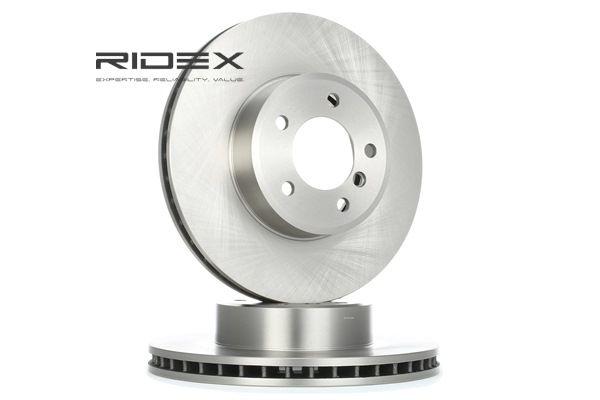 Bremsscheibe 82B0202 mit vorteilhaften RIDEX Preis-Leistungs-Verhältnis