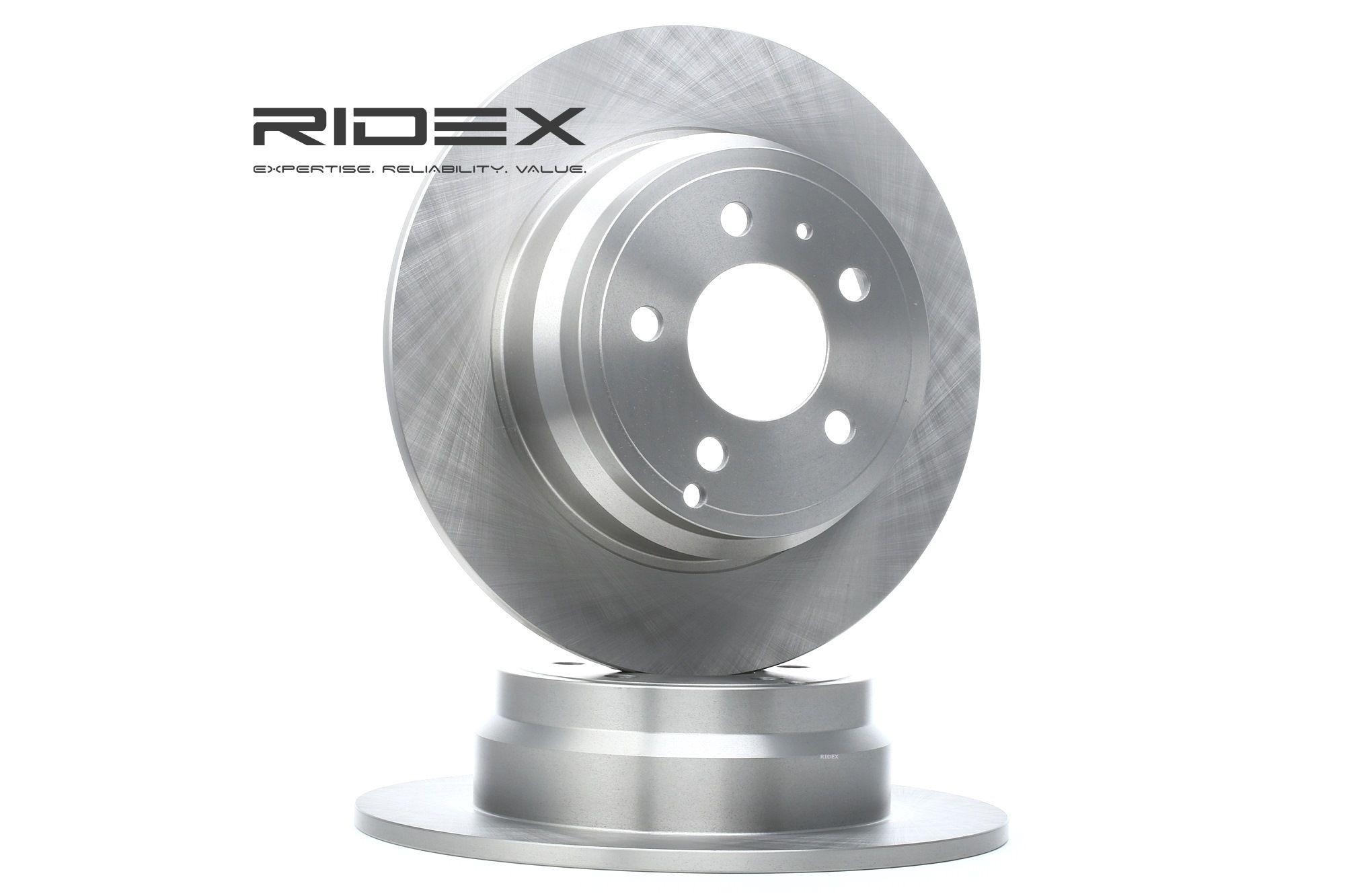 VOLVO XC70 2012 Scheibenbremsen - Original RIDEX 82B0220 Ø: 295,0mm, Felge: 5-loch, Bremsscheibendicke: 9,6mm