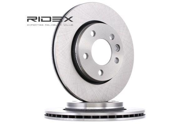 Bremsscheibe 82B0156 mit vorteilhaften RIDEX Preis-Leistungs-Verhältnis