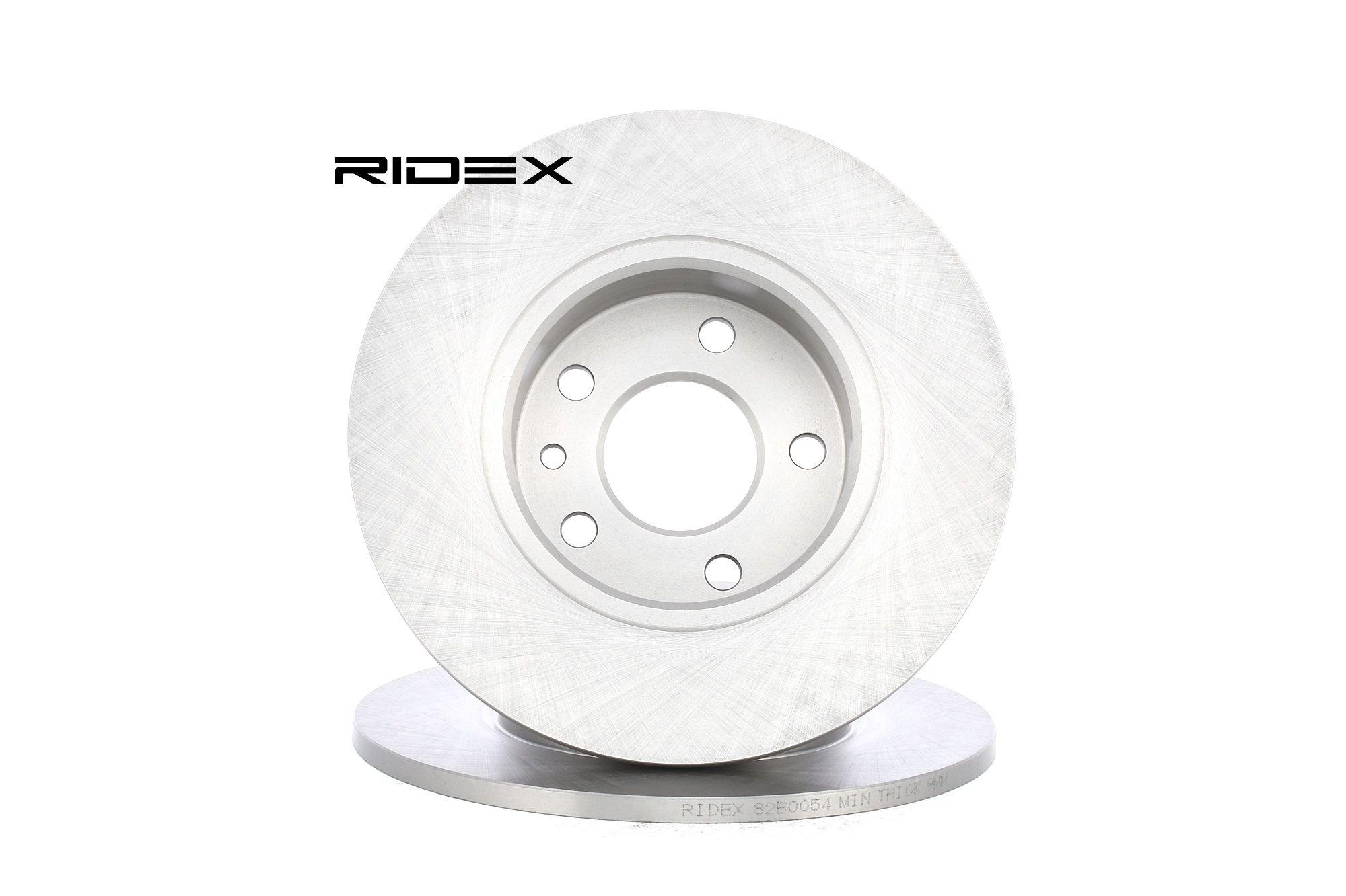 Image of RIDEX Dischi Freno FIAT,LANCIA,ALFA ROMEO 82B0054 164062610001,60569164,60602161 Freni a Disco,Dischi Dei Freni,Disco freno 60653479,60658566,7789267