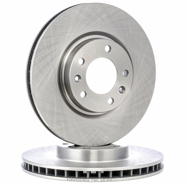 Brake Disc 82B0131 with an exceptional RIDEX price-performance ratio