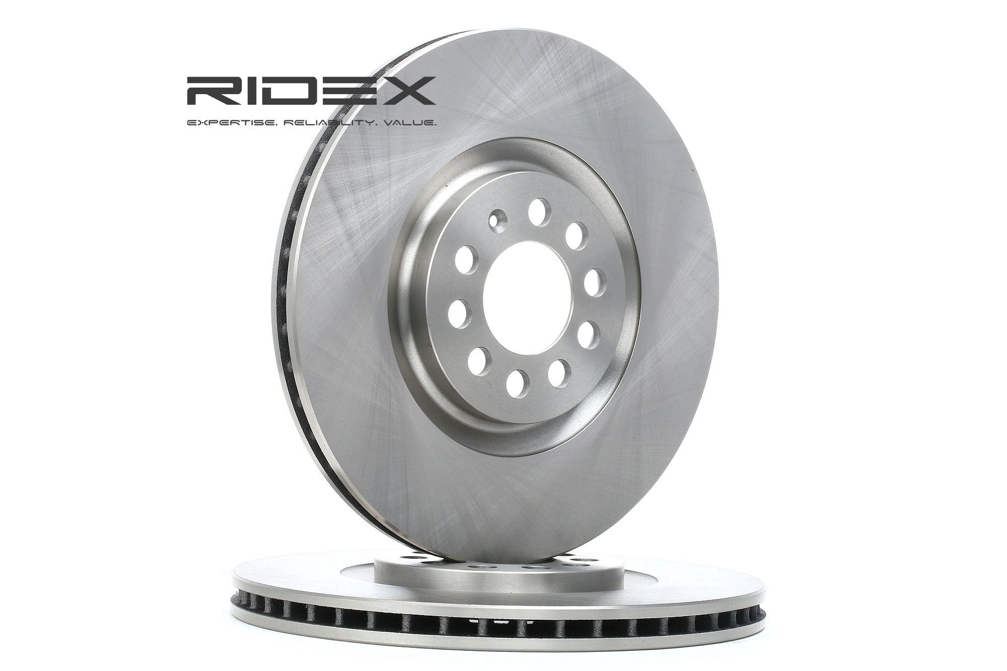 RIDEX 82B0193 (Ø: 312mm, Épaisseur du disque de frein: 25,0mm) : Disque de frein VW Polo 9n Berline 2007