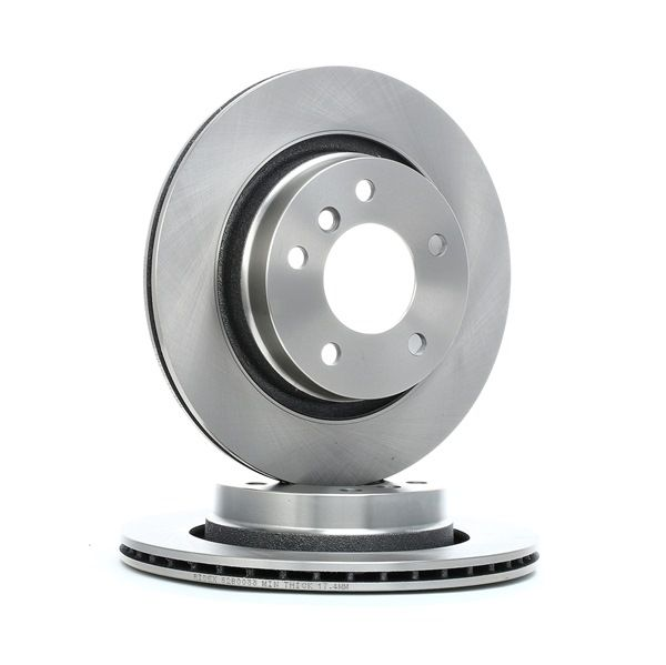 Brake Disc 82B0033 with an exceptional RIDEX price-performance ratio