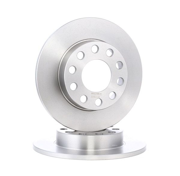 Brake Disc 82B0038 with an exceptional RIDEX price-performance ratio