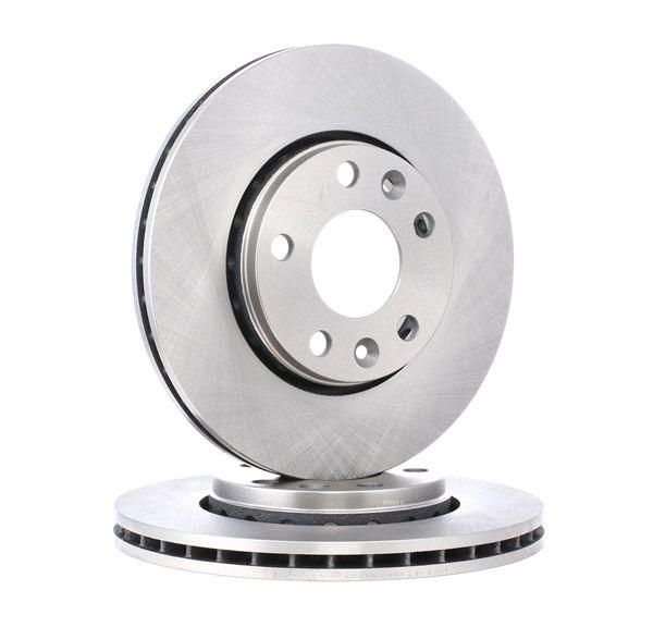 RIDEX: Original Bremsscheibe 82B0283 (Ø: 280,0mm, Bremsscheibendicke: 24,0mm) mit vorteilhaften Preis-Leistungs-Verhältnis