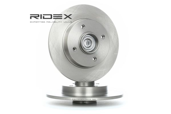 Brake Disc 82B0701 with an exceptional RIDEX price-performance ratio